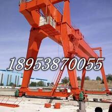 处理二手起重机制造旋臂吊小型龙门架500公斤简易天吊图片