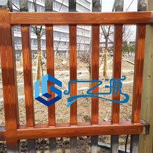 哪里有做仿木纹施工钢管木纹漆施工队图片
