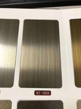 彩色不锈钢板材定制批发佛山源头厂家湖北武汉
