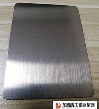 拉丝茶色不锈钢板茶色发纹镀钛板缎纹茶色抗指纹板楼盘商场电梯门套用板
