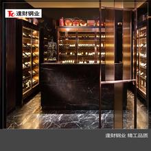 不锈钢金属酒柜不锈钢恒温恒湿酒柜不锈钢装饰酒柜不锈钢装饰酒柜