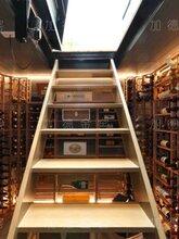 私人酒窖定制红酒储藏柜恒温恒湿藏酒柜大堂装饰酒柜