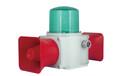 TLHD2L雙喇叭重負荷LED長亮/閃亮發光船用聲光報警器鑄鋁型聲光報警燈