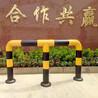 中国石化中国石油加油站加油机防护圈胶皮喷塑防撞柱防撞护栏