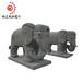 加工定制石雕大象門口招財大象福建石雕廠家印度紅石雕大象石雕工藝品