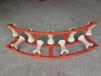 供應PVC管專用滑車輪寬200m滾輪式放線滑車多輪轉角放線滑輪燃氣管道專用滑車