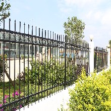 广东广州艺术围墙护栏小区学校铁艺护栏医院围墙栅栏