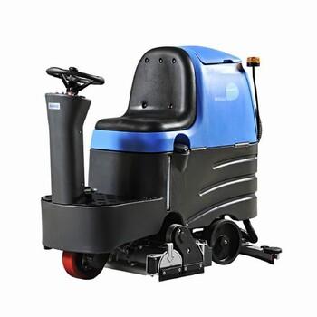 漢中學校操場用容恩洗掃一體機R-QQR容恩全自動洗地機