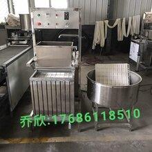 山东全自动休闲豆干机加工豆腐干的机器盛隆豆制品机械