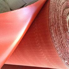 硅胶玻纤布夹胶布每平方价格图片