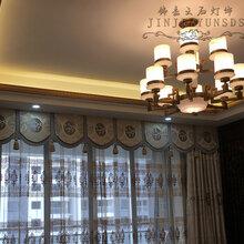 中山中式真云石室内吊灯灯室内壁灯室外壁灯高档住宅酒店大厅吊灯壁灯图片