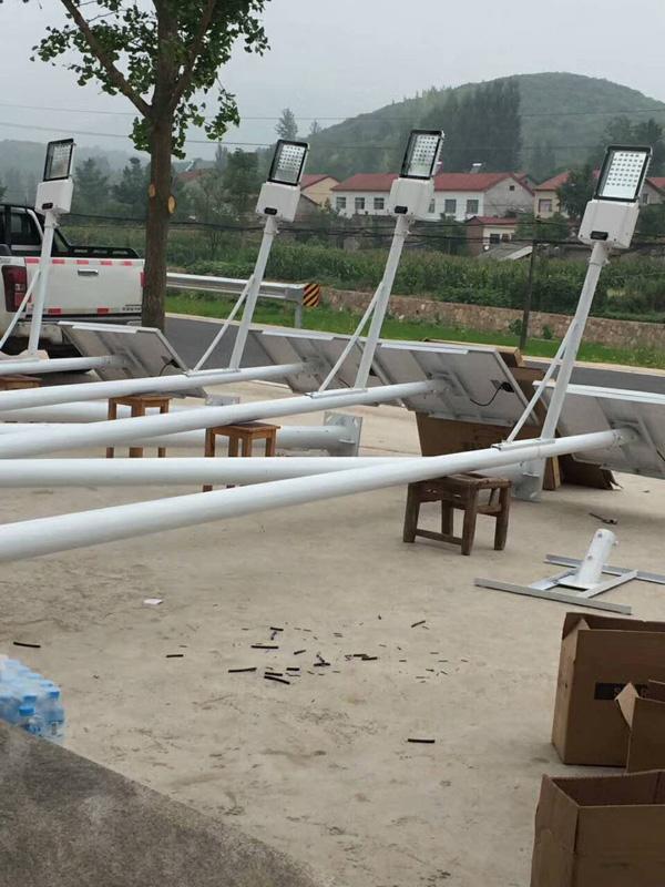 五原县6米太阳能路灯价格12V的太阳能路灯耐用