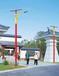 新疆喀什英吉沙县锥形太阳能路灯灯杆厂家经销商