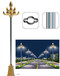 新疆哈密地区伊吾县太阳能路灯厂家生产零部件整套调价信息