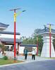 四川成都太阳能路灯批发多少钱厂家质保三年