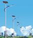 青海海南贵德县太阳能风光互补路灯7米厂家批发