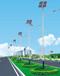 贵州贵阳白云区太阳能风光互补路灯7米行情