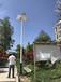 定海區太陽能路燈含電線地腳籠螺絲廠家
