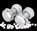 优扣生产优质12.9级外六角热镀锌螺栓