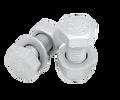 专业生产8.8级外六角热镀锌螺栓