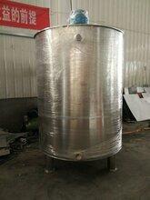 不锈钢润滑油搅拌罐削切液混合罐单层山东济宁图片