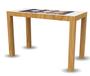 65寸桌面多功能觸摸茶幾游戲互動查詢一體機電容觸摸屏智能洽談桌