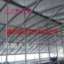 农业设施几字钢德兴市温室大棚骨架预算安装