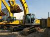 出售進口中小型二手挖掘機神鋼260大黃蜂