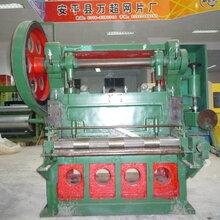 厂家生产直销钢板网机器重型钢板网机重型龟甲网机60-150吨钢板网冲剪机图片