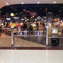 北京厂家供应智能超市入口单向门,雷达红外感应门