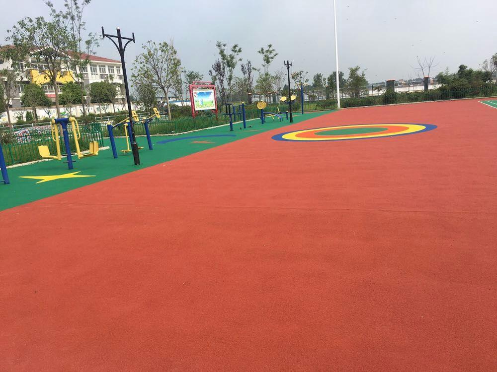 石家庄塑胶跑道施工幼儿园运动跑道场地