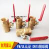 台湾富山球阀FM认证丝扣球阀全铜球阀全通径球阀快开球阀