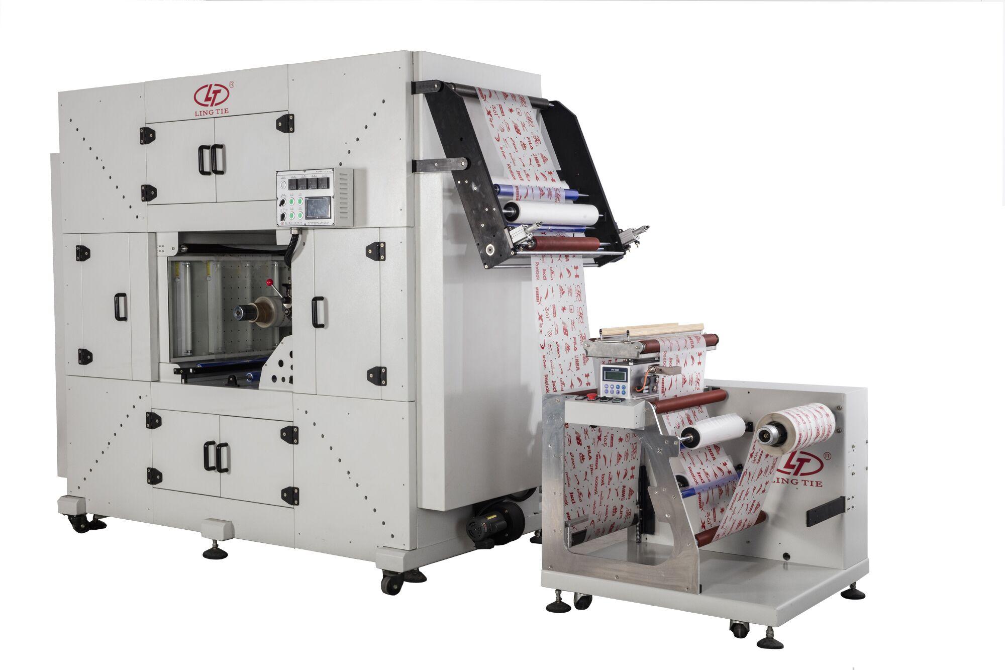预缩烘箱印刷烘干一条线