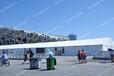 定制鋁合金帳篷,展銷會活動篷房,大型戶外pvc大棚定制