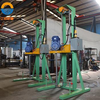 廠家供應電動分散機乳膠漆分散機膠水攪拌機轉速可調