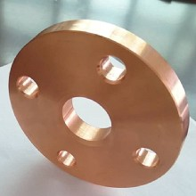 铝法兰厂家国标铜镍合金法兰T2紫铜法兰盘船标纯铜异型法兰定做图片