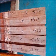 电工T2紫铜汇流排C1020无氧紫铜排C1100紫铜卷排紫铜排1030图片
