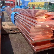 天津批發銷售接地母線排鍍錫紫銅排高純度T2接地銅排TMY銅排圖片