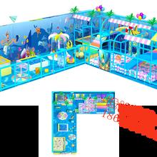 海洋系列淘气堡室内儿童乐园游乐设备广州飞翔家厂家直销图片