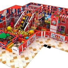 厂家直销个性英伦淘气堡儿童乐园定制游乐设备飞翔家图片