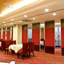 惠州宴會廳折疊隔墻吊趟門的品質圖片
