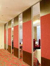 惠州賓館吊掛隔斷墻折疊門質量圖片