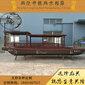 15人观光游览船摆渡电动船高低篷摇橹船图片