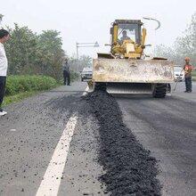 深圳沥青路面修补铺路龙岗区铺沥青路修路沥青道路摊铺工程图片