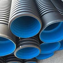 潍坊奎文区PE波纹管城市排水用双壁波纹管价格实惠图片