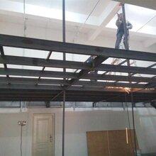 太原钢结构阁楼隔层浇筑别墅改造二层现浇楼梯支模
