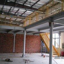 青岛钢结构阁楼隔层楼板现浇筑二层露台钢筋混凝土楼梯