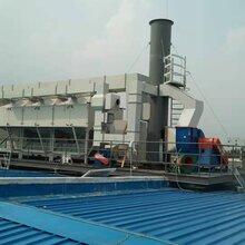 天津绿舟35000风量催化燃烧有机废气处理设备