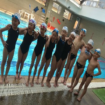 菏澤市游泳健身協會游泳培訓學員參加2021菏澤市游泳比賽