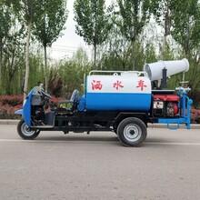 五征22馬力三輪灑水車小型霧炮抑塵灑水車價格三輪灑水車圖片